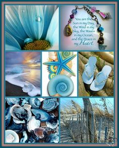 peace in my heart Collages, Beautiful Collage, Beautiful Images, Pot Pourri, Color Collage, Mood Colors, Jolie Photo, Colour Board, Beach Themes