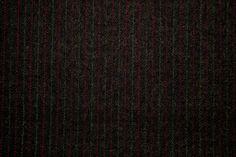 Smart Dark Olive/Grey Pinstripe Wool Blend Suiting Dressmaking Fabric