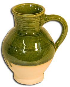 tableware pottery borderware drinking jug 14oz Tudorshoppe.com