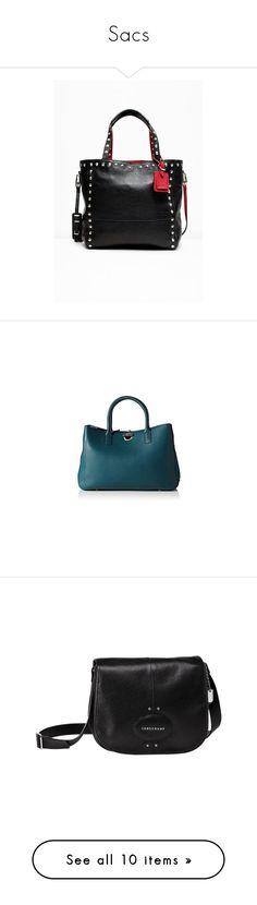 """""""Sacs"""" by l-armoire-de-pims on Polyvore featuring bags, blue bag, lamarthe, lamarthe bags et handbags"""