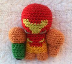 Samus Aran mini crochet amigurumi by PixelBlock