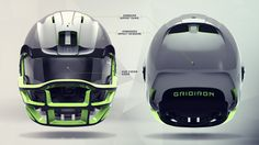 Future Football Helmet Design Case Study on Behance