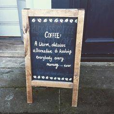 Takes the edge off #coffee #edinburgh #stockbridge
