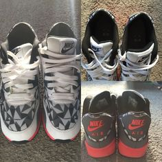 Nike Air Max 90 GS Size 8 in women's (6.5 in men's). Great condition except for a few marks indicated in the pictures. Nike Shoes Sneakers
