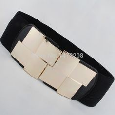 >> Click to Buy << Wholesale New Arrival Women's Golden Rectangle Cummerbunds Fashion All-Match Ultra Wide Decorative Waist Belts #Affiliate