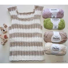 Baby Knitting, Crochet Baby, Knit Crochet, Drops Paris, Baby Vest, Blusher, Drops Design, Clowns, Barn