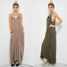 """Moon Palace"" Strappy Harem Maxi Dress Strappy, low back harem maxi dress. Available in olive and mocha. This listing is for the MOCHA. Brand new. True to size. NO TRADES. Bare Anthology Dresses Maxi"