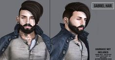 VIP Group Gift For Men Gabriel Fatpack. There is a brand new group gift available for men: the Gabriel hair. Travel to the Speakeasy mainstore to get