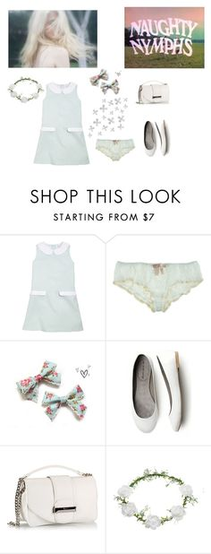 """70s nymphet"" by littlesweetheart123 ❤ liked on Polyvore featuring Brooks Brothers, Eberjey, Topshop, Dot & Bo, 70s, hippie and nymphet"