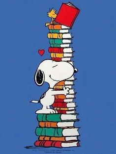 "tjatkin: ""bibliolectors: ""Snoopy lector (ilustración de Charles M. Schulz) "" They always know what is most important - love Snoopy & Woodstock! Peanuts Gang, Peanuts Cartoon, Charlie Brown And Snoopy, Snoopy Love, Snoopy And Woodstock, Tierischer Humor, Drunk Humor, Ecards Humor, Nurse Humor"