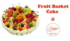 Topped with juicy,‪#‎freshfruits‬, this ‪#‎cake‬ is the perfect ‪#‎gift‬ for any and every occasion!