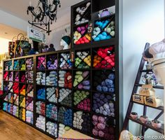 A warm welcome to new DROPS design retailer Little Woolie Ltd in Bromley, London