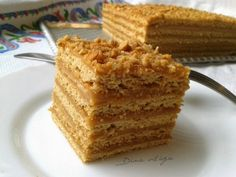 Marlenka Rice Krispies, Krispie Treats, Honey Cake, Cake Youtube, Cornbread, Vanilla Cake, Minden, Ethnic Recipes, Foods