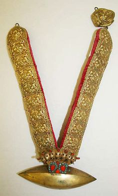 Wedding necklace | Nepalese | The Met