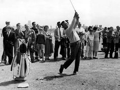 """Arnold Palmer and """"Arnies Army"""". He started it all!"""
