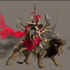 Shiva Tandav, Shiva Parvati Images, Hanuman Images, Durga Images, Krishna, Indian Goddess Kali, Goddess Art, Durga Goddess, Durga Maa