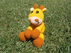 crochet giraffe toy - by carmenscritters on madeit