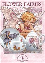 M.W. Reutter porcelain Flower Fairies tea sets