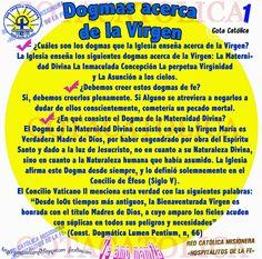GOTA CATÓLICA: Dogmas acerca  de la Virgen  / RED CATÓLICA MISION...