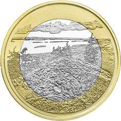 Finlandia 5€ 2018 Paisajes Nacionales – Parque Nacional Koli Piece Euro, Elder Scrolls, Jukebox, Europe, Italian Lira, World, Report Cards, Finland, National Parks