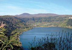 Nemi Lake in Italy