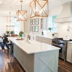 We're obsessed with the Chip 2.0 kitchen and dining room from Fixer Upper! So, we've rounded up identical sources for everything in this space! Get all the details by clicking on the link in our profile and clicking this image. You can also sign up for @liketoknow.it.home and when you like this image, all sources will be emailed to your inbox! #ltkhome #liketkit  @liketoknow.it  http://www.remodelaholic.com/get-this-look-the-chip-2-0-kitchen-and-dining-spaces Image via Magnolia Market…