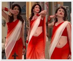 The popular and glorious TV actress is Saumya Tandon of 34 years, she also hosted the Dance India Dance show and Bournvita Quiz contest earlier Alia Bhatt Photoshoot, Actress Navel, Saree Navel, Exotic Women, Tv Actors, Indian Beauty Saree, Tall Women, Saree Styles, Harajuku Fashion