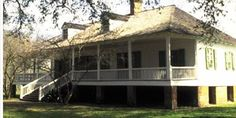 Magnolia Mound Plantation:  Baton Rouge, Louisiana  Built c. 1791 Not small but I used this of a home I built in Michigan in 1988  I love this home