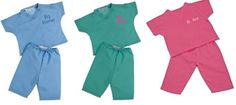 Make big brother or big sister feel extra special with these mini embroidered scrubs. A great sibling gift, they will feel included when they wear these to the hospital to pick up the new baby. $38