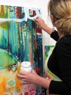 Abstract Portrait, Abstract Art, Portrait Paintings, Art Paintings, Pintura Graffiti, Art Prompts, Expressive Art, Creative Artwork, Ink Illustrations
