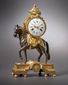 Antique Watches, Antique Clocks, Vintage Clocks, Louis Xvi, Plywood Furniture, Art Decor, Decoration, Skeleton Clock, Eames