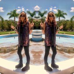 http://yuppyscum.com/2012/08/bleached-black/ #yuppyscum #ootd #fashion #style