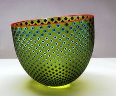 :: Wise Bowl of the Day: Even when life is atilt...the road will soon straighten. Bowl: Robert Wynne