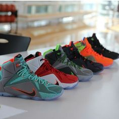 premium selection 68b63 f6024 Release Dates for 7 Nike LeBron 12 Colorways