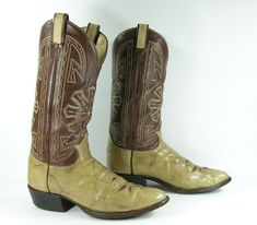 7bb75ebcbe4c5 Vintage BLay Women's Leather Boots Size 38 Brown Vintage BLay ...