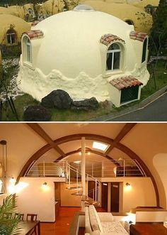 Prefab dome house