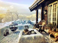 Eksklusiv fritidsbolig i hjertet av Norefjell Nordic Lodge, Cozy Cabin, Lodges, Hygge, Real Estate, Exterior, Rustic, Outdoor Decor, Log Cabins