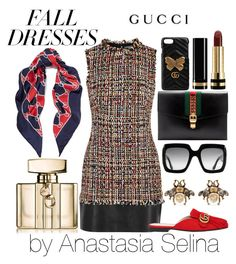 """Untitled #35"" by yesselina on Polyvore featuring Alexander McQueen and Gucci"