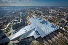 Rotterdam Centraal - Fantastisch station !