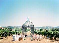 Elegant Portugal vineyard wedding | Real Weddings and Parties | 100 Layer Cake