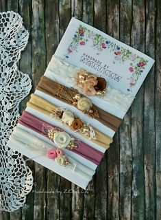 Flower instructions patterns fabric vintage headband