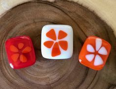 Floral Magnet Trio by Design4Soul by Design4Soul on Etsy