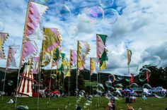 Dr Zigs Extraordinary Bubbles at Green Man festival 2014 - visit our website www.drzigs.com