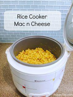 Rice Cooker Mac n Cheese! — HappySlip