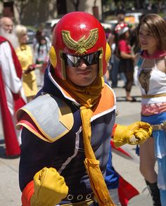 Dope Captain Falcon cosplay