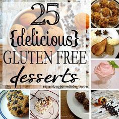 25 Delicious Gluten Free Desserts (that don't taste like cardboard!)