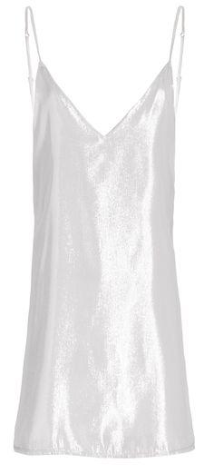 Dresses - Zillah Slip Dress - Silver