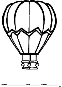 Giant hot air balloon picture for display (SB10557