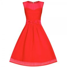 'Candy' Red Formal Prom Party Dress