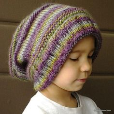 (6) Name: 'Knitting : Emily's Super Slouchy Knit Hat